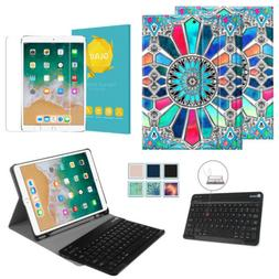 """For iPad Pro 10.5"""" 2017 Keyboard Case Cover + Bluetooth Keyb"""