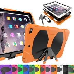 For Apple iPad 6th Generation 9.7 2018 stand Armor TPU Rubbe
