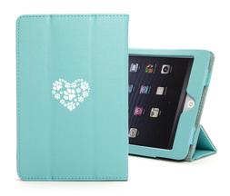For Apple iPad Leather Smart Stand Case Cover Protector Hear