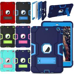 For Apple iPad Mini 1 2 3 Tablet Case Kids Silicone ShockPro