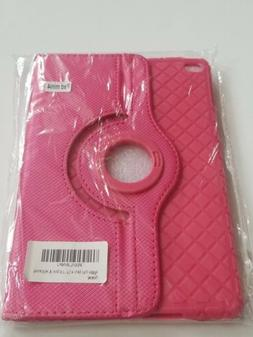 For Apple iPad Mini 4 Case Hot Pink dream wings 360 rotating
