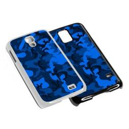 Camo Army Blue Phone Case Cover for iPhone 4 5 6 7 8 X iPod