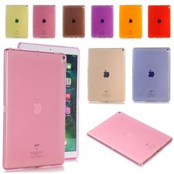 Candy Color Clear Soft TPU Rubber Silicone Back Case For iPa