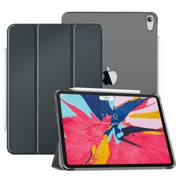 """MoKo Case Fit iPad Pro 11"""" 2018 - Translucent Frosted Back P"""
