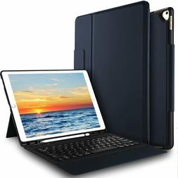 Ivso Case With Keyboard For Apple Ipad Pro 12.9, Ultra-Thin