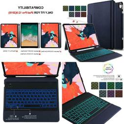 Ivso Case With Keyboard For Ipad Pro 12.9 2018-3Rd Gen One-P