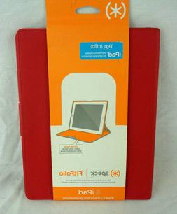 Speck Fitfolio Case for Apple iPad 2 / 3rd Gen Red New NIB R