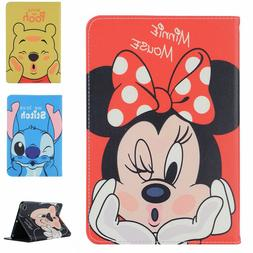 Flip Disney Smart Leather Stand Case Cover Defender For Appl