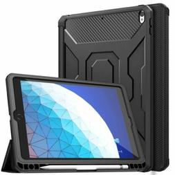 MoKo Full-Body Cover Smart Trifold Stand Case Film for iPad