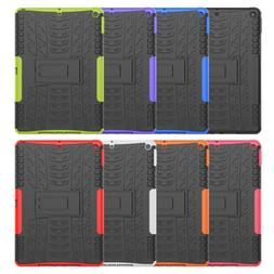 "Hybrid Rubber Hard Back Armor Case For Apple iPad 10.2"" 7th"