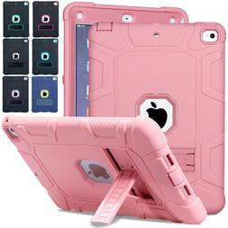 Hybrid Rugged Bumper Case with Stand Cover For Apple iPad 9.