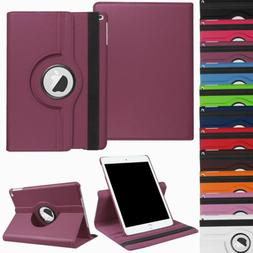 """For iPad 10.2"""" 8th 7th Generation 360° Rotating Leather Sma"""