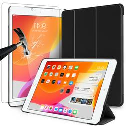 For iPad 10.2 inch 2019 7th Generation Gen Case Cover+HD Gla