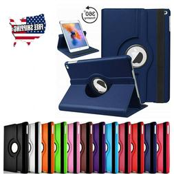 For iPad 2 3 4 Shockproof Case Cover 360 PU Rotating Leather