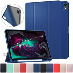 """For iPad 2018 Pro 11"""" 10.5"""" 9.7"""" 5/6th Gen Leather Case Cove"""