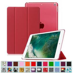 """Fintie iPad 5th Gen 9.7"""" 2017 Case Translucent Frosted Back"""