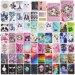 """For iPad 5th Generation 9.7"""" 2017 Cute Pattern Magnetic Leat"""