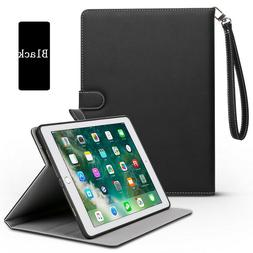 "iPad 7th Gen 10.2"" 2019 Soft Leather Case Magnetic Smart Cov"