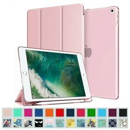 """For iPad 9.7"""" 6th Gen 2018 Slim Shell Stand Case Cover with"""