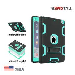 For iPad 9.7 inch 5th/6th Generation Case Stand Silicone Cov