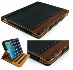 """iPad Case 7th Gen 10.2"""" 2019 Leather Smart Cover Wallet Slee"""