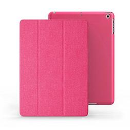 KHOMO iPad Mini Case - DUAL Series - ULTRA Slim Twill Pink C