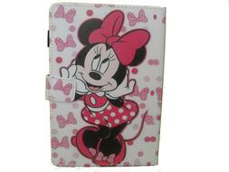 IPAD MINI 4 / 5 CASE COVER PINKBOW MINNIE MOUSE DISNEY CARTO