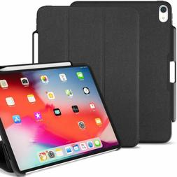Khomo Ipad Pro 11 Inch Case With Pen Holder - Dual Black Sup