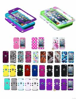 For Apple iPod Touch 6th Gen ShockProof Hybrid Rubber Protec