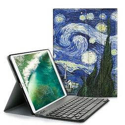 IVSO Keyboard Case for iPad Air 10.5 2019-One-Piece Keyboard