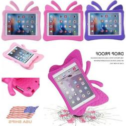 Kids Cute Butterfly EVA Case Cover Stand For iPad 9.7 inch 5