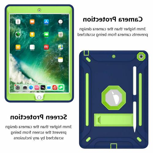For iPad 2019 7th Generation Shockproof Hard Cover