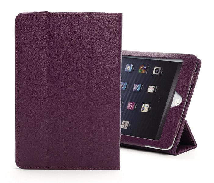 For Apple iPad 3 4 5 Air Mini Pro Leather Smart Stand