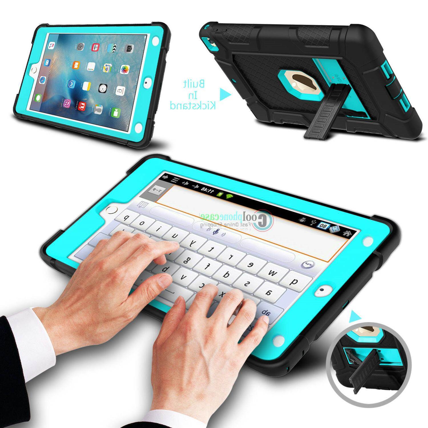 For Apple inch 6th Gen 2018 Shockproof Hard Kickstand Case Cover