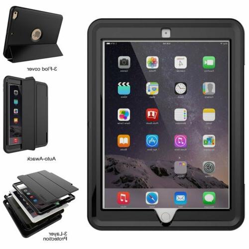 For Apple iPad 1 2 3 Protective Hybrid Hard Stand Case