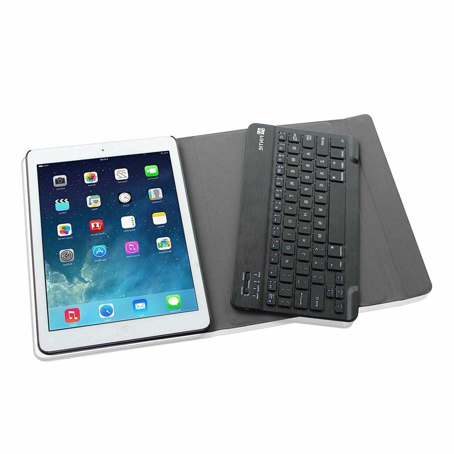 For 6th 5th Air 1 Case Cover with Bluetooth Keyboard