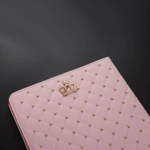 Cute Case iPad 7th Generation 10.2 Smart Crown Stand