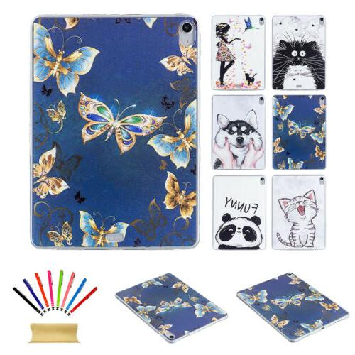 Cute Pattern Soft Silicone Shockproof Back Case For Apple iP
