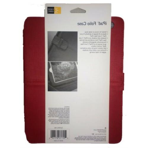 Case Durable Red iPad for 3, 2