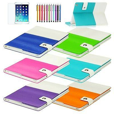 hybrid folio leather smart case cover stand