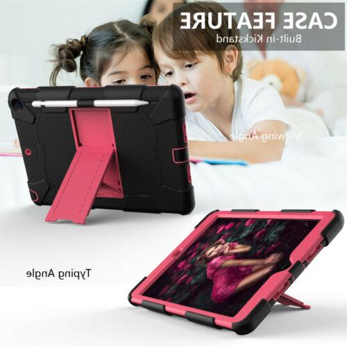 Hybrid Armor Rubber Hard Stand Cover iPad Gen 10.2