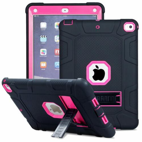 Hybrid Rugged Bumper Case with Stand Apple iPad 9.7 5th