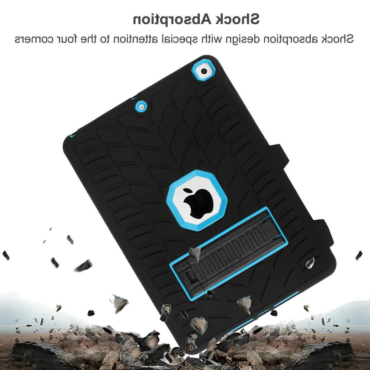 For iPad 7th Duty Case Shockproof Stand
