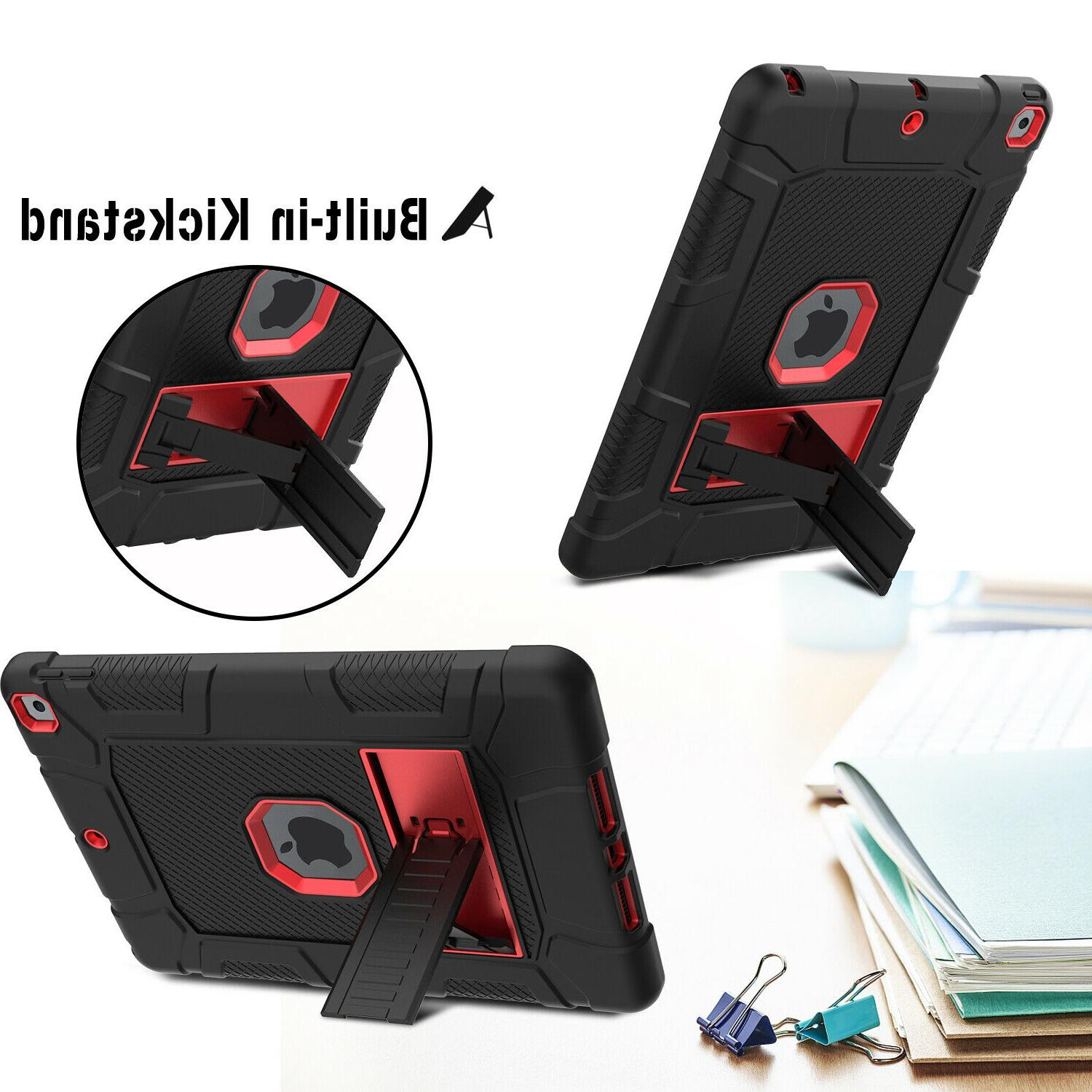 """For 7th 6th 9.7"""" Kickstand Stand Cover"""