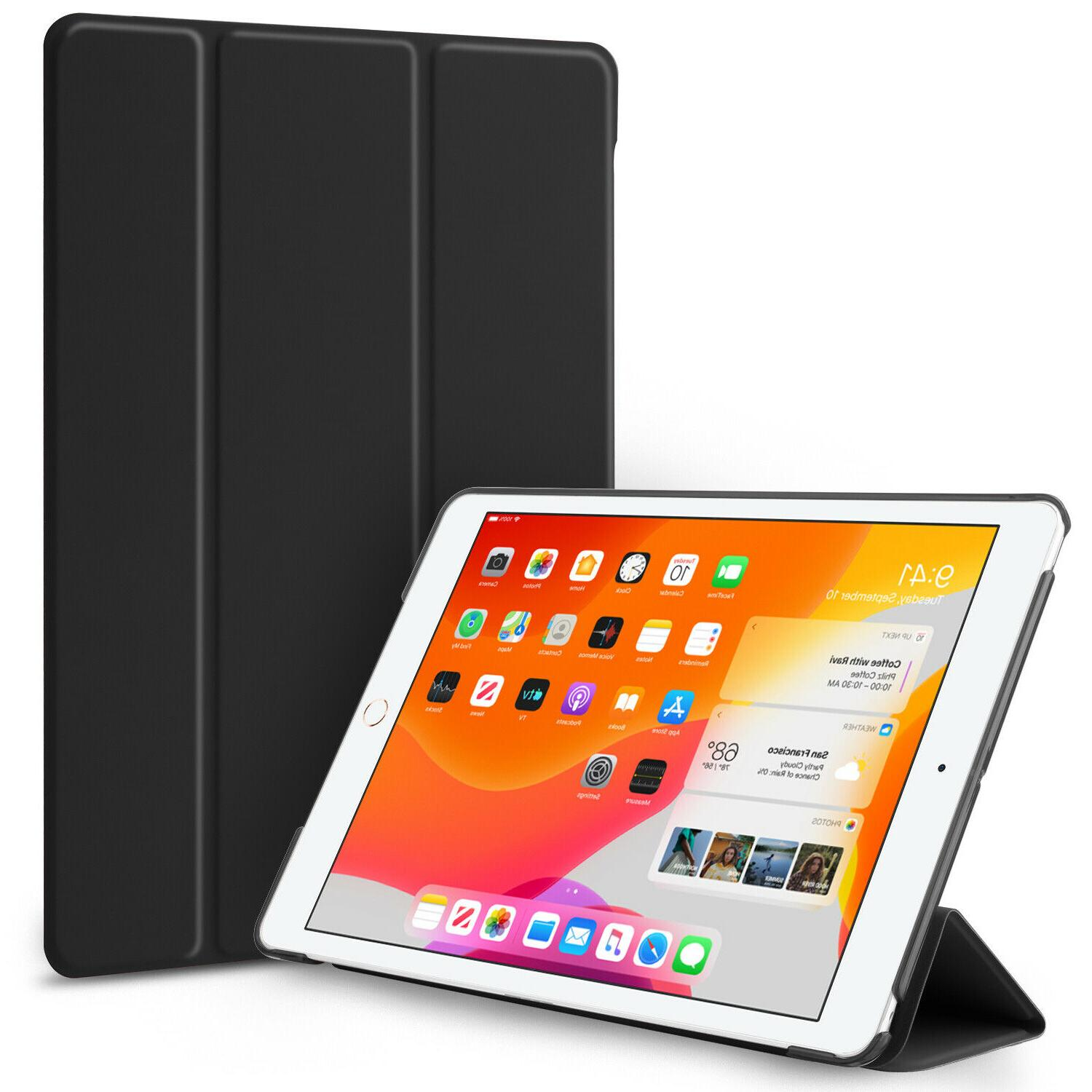 For iPad inch 2019 Generation Smart Stand Case Cover Screen Protector