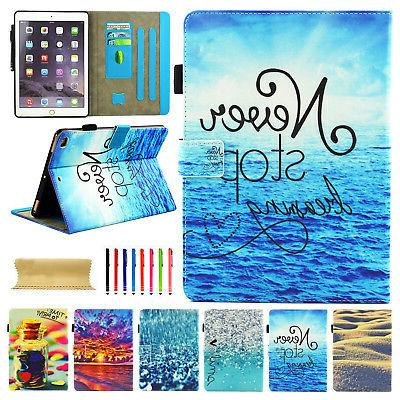 """For iPad 9.7"""" 2017 Cute Magnetic Cover"""