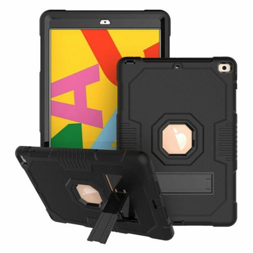 For iPad Generation Protection Rugged Stand Case