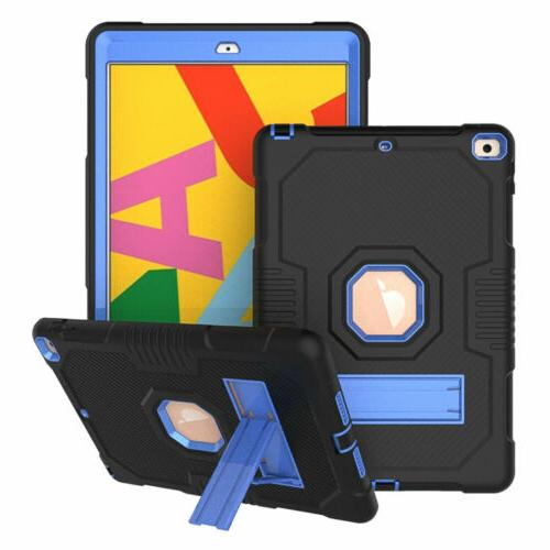 For iPad Generation 9.7 Inch Protection Rugged Impact Stand Case