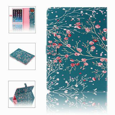 For iPad Wallet Folio Case Cover