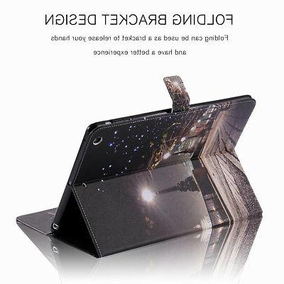 For iPad 6th Generation Leather Wallet Case Cover